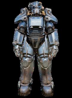 FO76 T-45 power armor