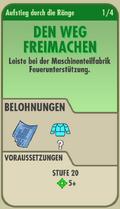FOS - Aufstieg durch die Ränge - 1 - Den Weg Freimachen - Front