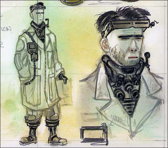 Scientist outfit CA2