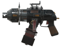 F76WL Gauss pistol