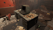 FO4 Shaw High School principal's desk
