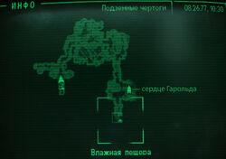 Подземные чертоги Карта