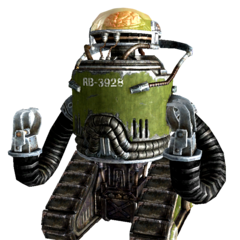 U.S. Army robobrain in <i>Fallout 3</i> and <i>Fallout: New Vegas</i>