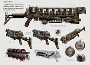 Art of Fallout 4 Gauss rifle