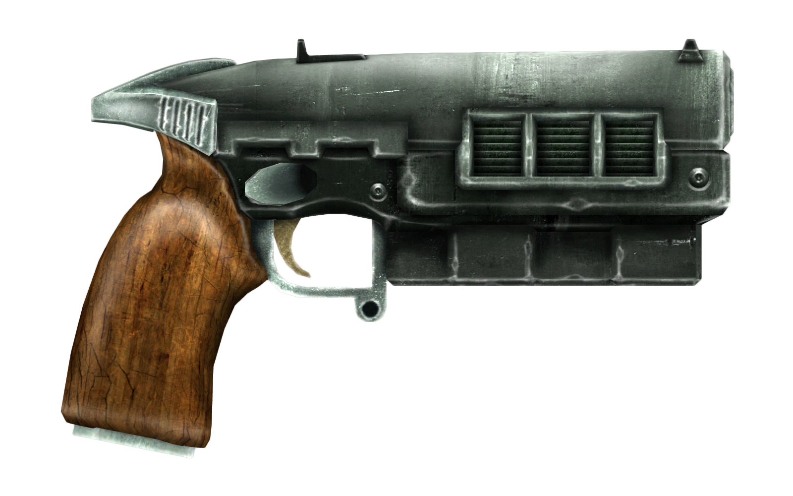 12 7mm pistol | Fallout Wiki | FANDOM powered by Wikia