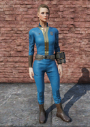 FO76 Vault Tec University Jumpsuit Female