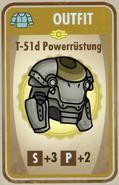 FOS - Outfit - Karte - T-51d Powerrüstung