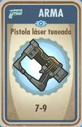 FOS Pistola láser tuneada carta