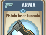 Pistola láser tuneada