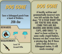 FoS Dog Gone card