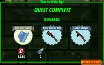 FoS Time to Wake Up! rewards
