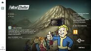 Install screen Fallout Shelter PC