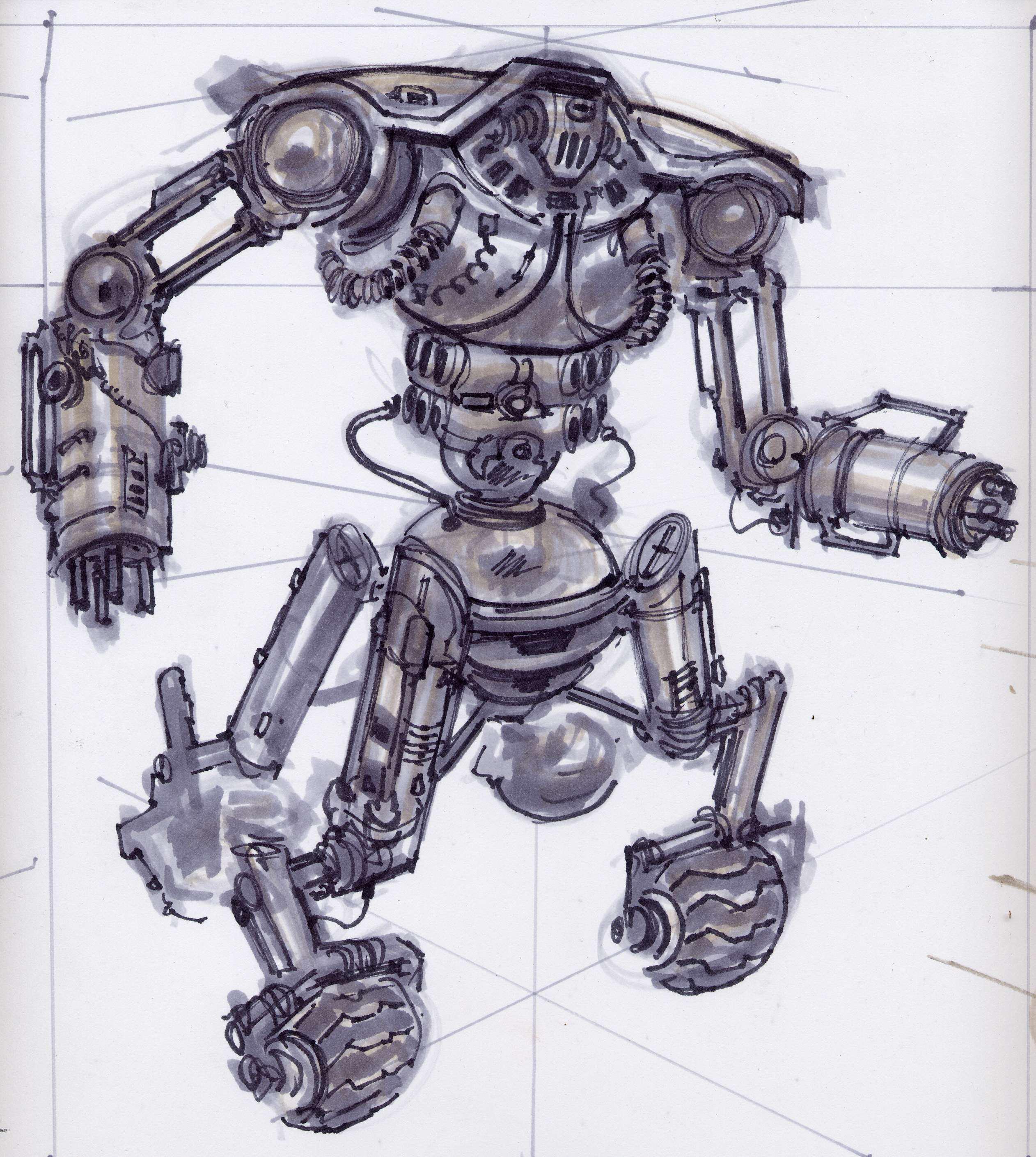 Sentry bot CA4