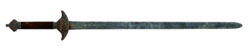 Chinese officer's sword
