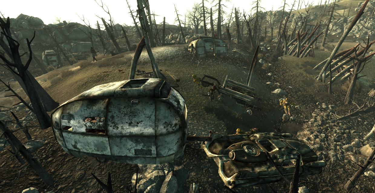 Everglow National Campground Raider vs Mutant