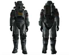 FNV NCR salvaged armor