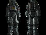 NCR salvaged power armor
