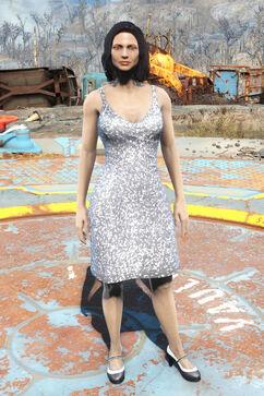 FO4CC Silver dress