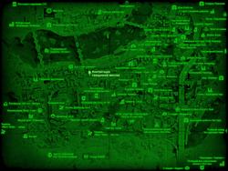 FO4 Конгрегация священной миссии (карта мира)