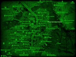 FO4 Парк Христофора Колумба (карта мира)