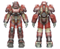 FO4 T-60 power armor hot rod flames
