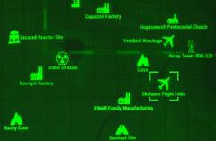 FO4 map Skylanes Flight 1665