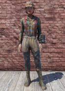 FO76 Fisherman's Outfit with Hat