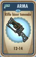FOS Rifle láser tuneado carta