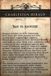 MAN VS. MACHINE!