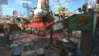 Diamond City Halloween style FO4