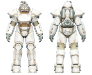 FO4CC T-51 power armor white