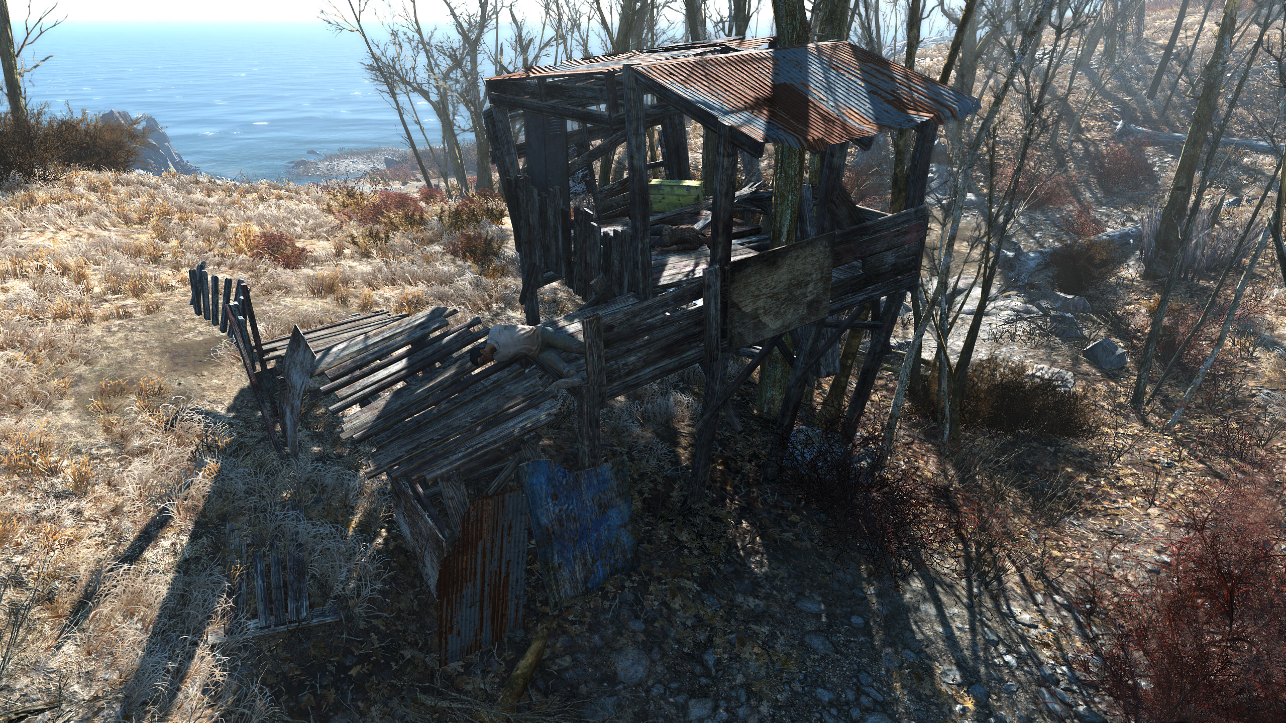 FO4 Spectacle Island (Settlements shack)