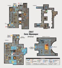 FO4 Survival Guide Saugus Ironworks interior map ru