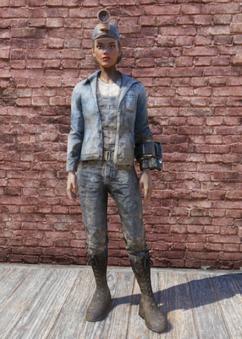 FO76 Miner Uniform