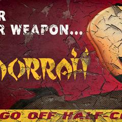 Довоєнний плакат казино «Гоморра»