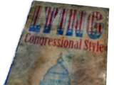 Lying, Congressional Style (Fallout: New Vegas)