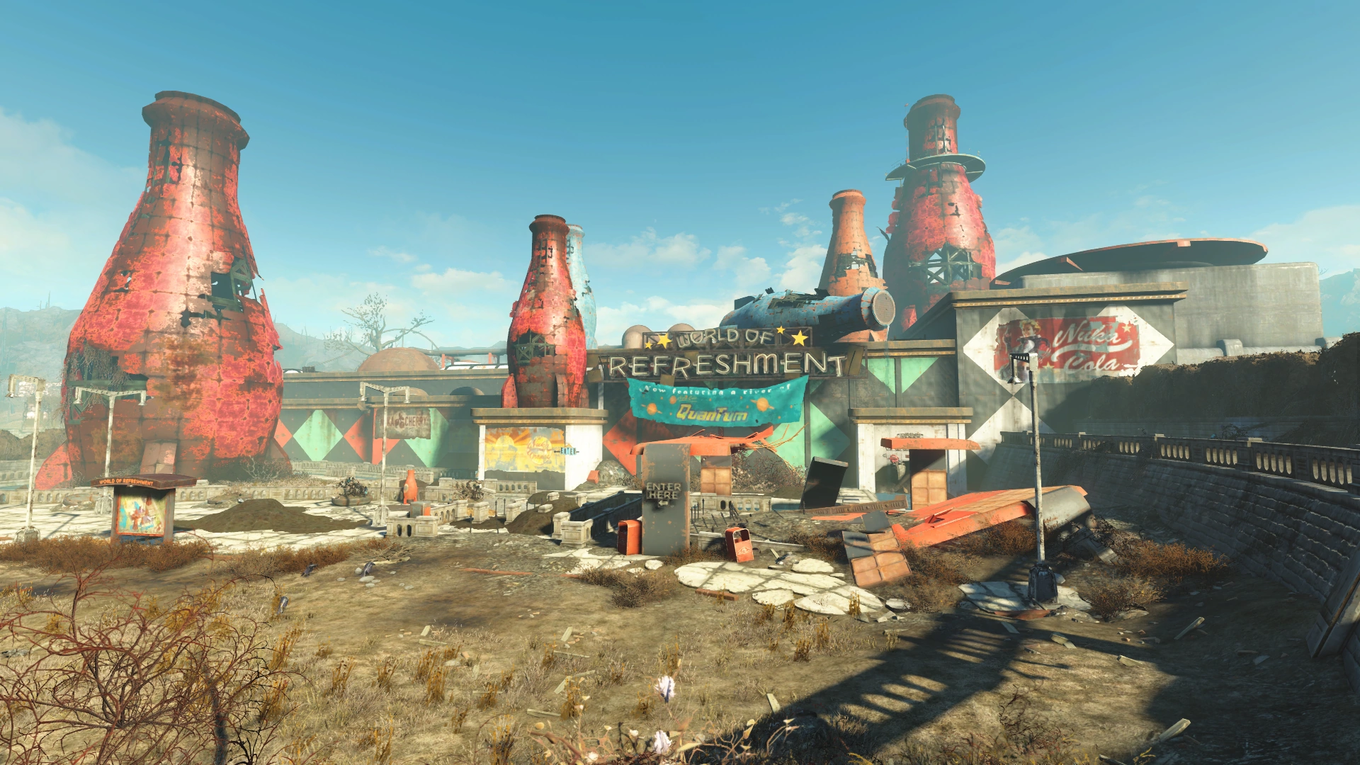 nuka cola bottling plant fallout wiki fandom powered by wikia. Black Bedroom Furniture Sets. Home Design Ideas