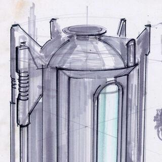 «Укриття», в якому знаходиться вимкнений протектрон