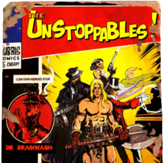 Issue #1: Dr. Brainwash and His Army of De-Capitalists!