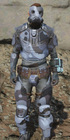 Urban scout armor front