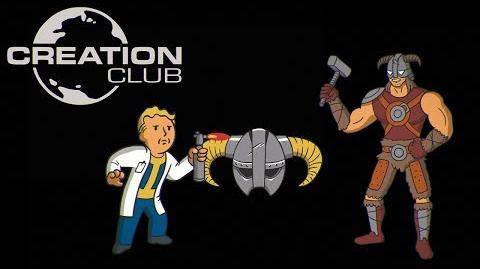 Creation Club for Fallout 4 & Skyrim Special Edition – E3 Announce Trailer