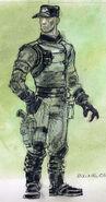 Enclave officer CA1