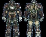 FO4CC T-60 power armor gunner sergeant