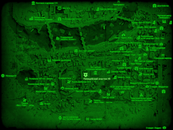 FO4 Полицейский участок 8 (карта мира)