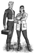 Fallout d20 Vault Dwellers by Tensen01