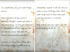 Confession note