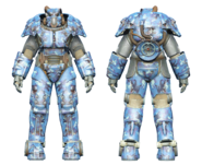 FO4CC X-01 power armor aquatic camo