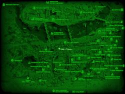 FO4 Кафе «У Анны» (карта мира)