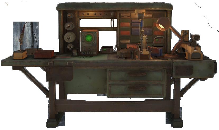 Tinker's workbench | Fallout Wiki | FANDOM powered by Wikia