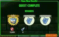 FoS Game Show Gauntlet - rewards